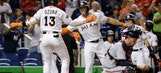 Marlins outfielders Stanton, Ozuna snag Silver Slugger Awards