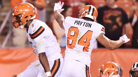 Browns rookie takes 'step' in QB clash, could get next start