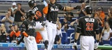 Giancarlo Stanton continues torrid stretch as Marlins edge Rockies