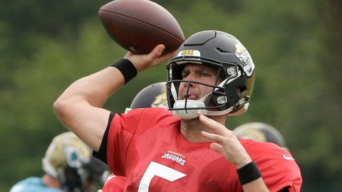 Allen Robinson offers profane assessment of Blake Bortles' accuracy