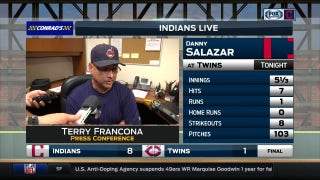 Terry Francona believes Salazar kept Tribe's offense in game