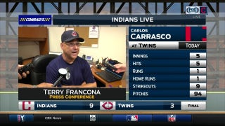 Terry Francona provides positive update on Ramirez after first game of double header