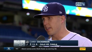 Corey Dickerson: 'We're playing consistent baseball together'