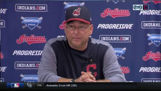 Tribe manager Terry Francona references Joe Dirt while answering how club will perservere