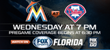 Preview: Marlins take on Phillies looking to surpass .500 for 1st time in nearly 4 months