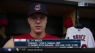 Jay Bruce, Tribe will keep plugging away after back-to-back difficult nights at plate