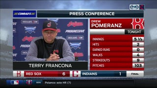 Terry Francona praises Pomeranz & Kluber, says Ramirez will get going