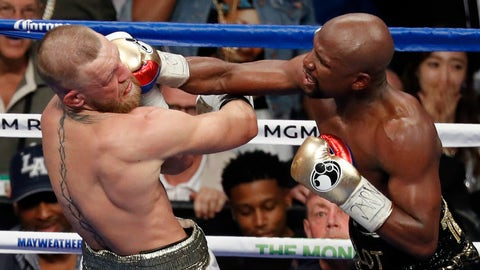 VIDEO: Floyd Mayweather's strategy on Saturday toyed with UFC fans