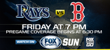 Preview: Rays back at home, carrying urgency into series vs. Red Sox