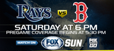 Preview: Rays try to regroup in Game 2 against Red Sox