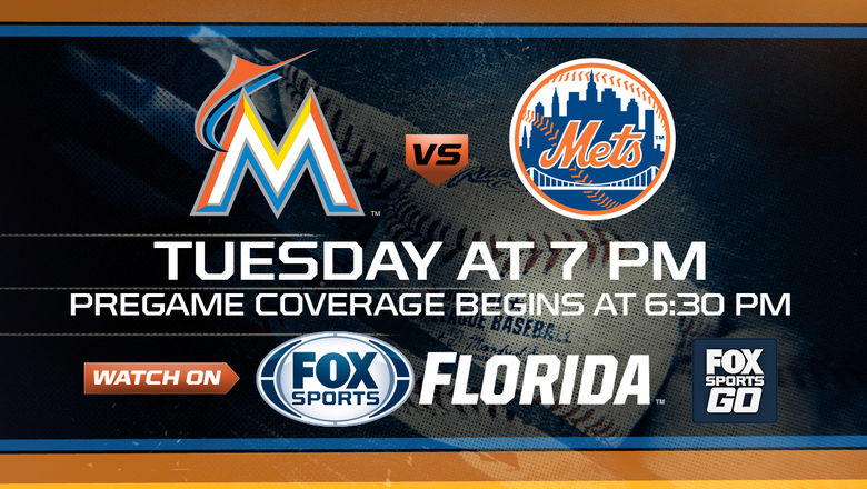 Preview: Stanton looking to get on a roll as Marlins face Mets in Game 2 of 3-game series
