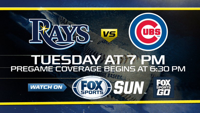 Preview: Rays try to stay in AL wild-card race as Cubs come to town