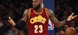 LeBron James says he has no idea where New York and L.A. talk is coming from