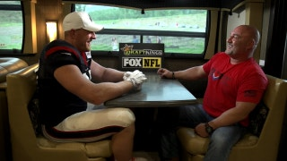 J.J. Watt joins the Jay Glazer Bus