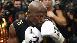 Floyd Mayweather Sr. on if 8 oz. gloves help his son or Conor McGregor more