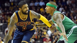 Skip says Kyrie Irving will push the Celtics past LeBron's Cavs in the East