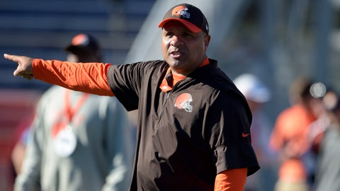 VIDEO: Shannon takes issue with Hue Jackson saying he doesn't want Browns players protesting