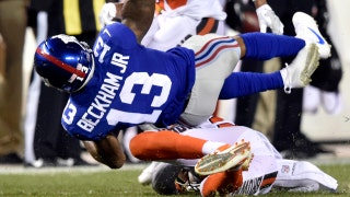 Shannon: Odell Beckham Jr. hit was 'a dirty play ... bush league play'