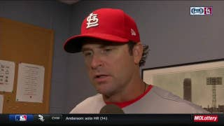 Matheny was hopeful Leake could pitch out of tough start