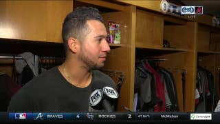 New Dad David Peralta: 'The best feeling ever'