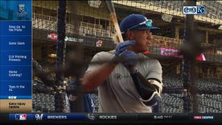 Salvador Perez ramps up rehab process