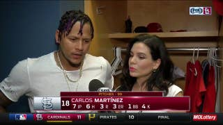 Carlos Martinez wants to focus on improving in the first inning