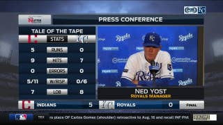 Ned Yost says fatigue isn't the reason for struggles of Royals' rotation