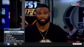 Tyron Woodley weighs in on McGregor-Mayweather