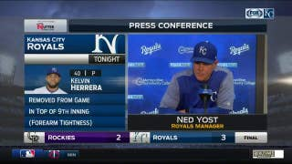 Yost on Duffy's big day: 'He had it all today'