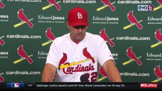 Matheny bullpen allowing six runs in an inning: 'That 7th inning hurt'