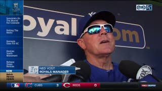 Yost says Herrera 'feels better' but status still up in the air