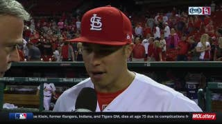 Wong on leading off: 'I had to come in, step in and do my job'