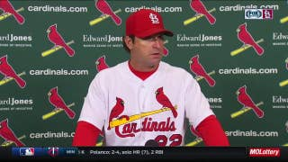 Matheny on Weaver's performance: 'He had everything'