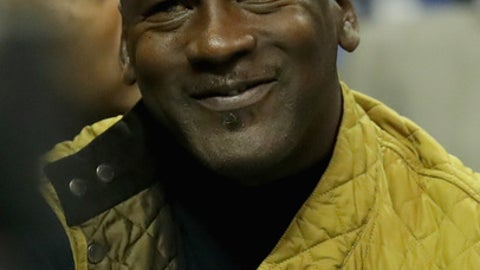 CHARLOTTE, NC - MARCH 06:  Michael Jordan, owner of the Charlotte Hornets, watches on during their game against the Indiana Pacers at Spectrum Center on March 6, 2017 in Charlotte, North Carolina.  NOTE TO USER: User expressly acknowledges and agrees that, by downloading and or using this photograph, User is consenting to the terms and conditions of the Getty Images License Agreement.  (Photo by Streeter Lecka/Getty Images)