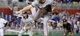 Nationals ace Scherzer leaves in 2nd inning with neck spasm