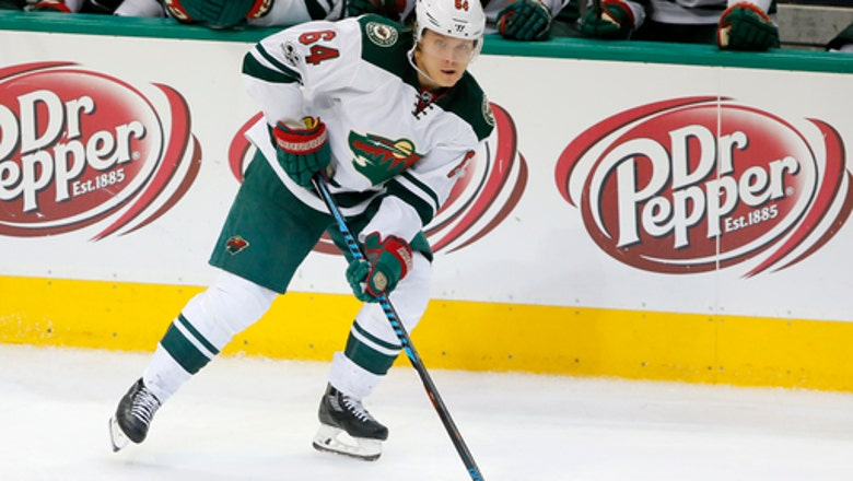 Newly signed Granlund: Wild 'can do some damage' in playoffs