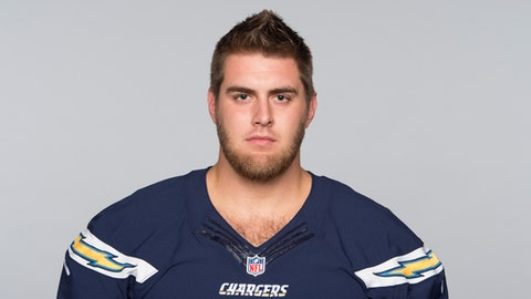 This is a 2017 photo of Forrest Lamp of the Los Angeles Chargers NFL football team. This image reflects the Los Angeles Chargers active roster as of Thursday, May 11, 2017 when this image was taken. (AP Photo)