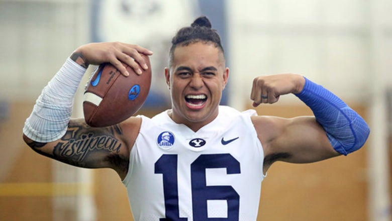 BYU's Sione Takitaki back and 'wreaking havoc'