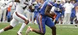Florida suspends Callaway, 6 others for opener vs Michigan