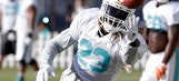 Dolphins' Ajayi joins drills for 1st time since concussion