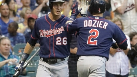 Twins 4, Brewers 0