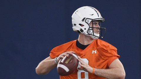 Stidham named starting QB