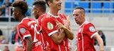 Dortmund, Bayern start with easy German Cup wins