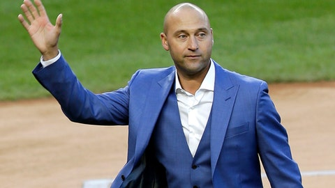 Marlins plan to sell to group that includes Jeter