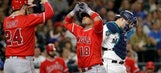 Angels again expose Mariners bullpen, rally for 6-3 victory (Aug 12, 2017)