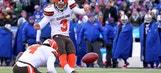 Leg up: Browns K Parkey battling rookie draft pick for job
