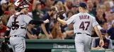 Encarnacion homers twice, Indians beat Red Sox 7-3