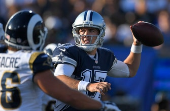 Images of Backup again: Cowboys QB Moore healthy, now behind Prescott