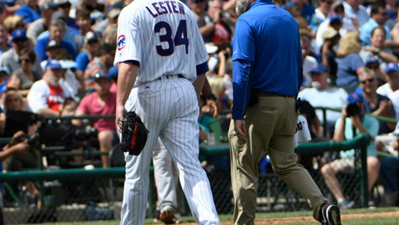 Cubs place LHP Jon Lester on 10-day disabled list