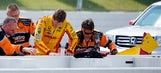 IndyCar driver Hunter-Reay cleared to race following wreck